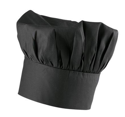 Exner Bistromütze Mischgewebe schwarz