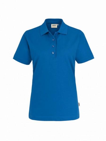HAKRO® Damen-Poloshirt Performance royalblau - Front