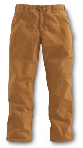 Carhartt® Washed Duck Work Dungaree carhartt® brown