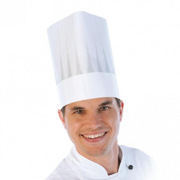 Franz Mensch Hygostar EUROPA Kochmütze - Das Original in weiß