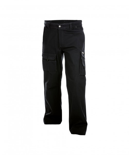DASSY Kingston Canvas Bundhose schwarz - Front