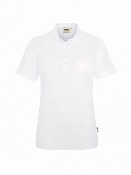 HAKRO® Damen-Poloshirt Performance weiß - Front