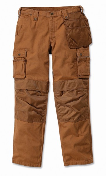Carhartt Multi Pocket Ripstop Pant in carhartt braun - front