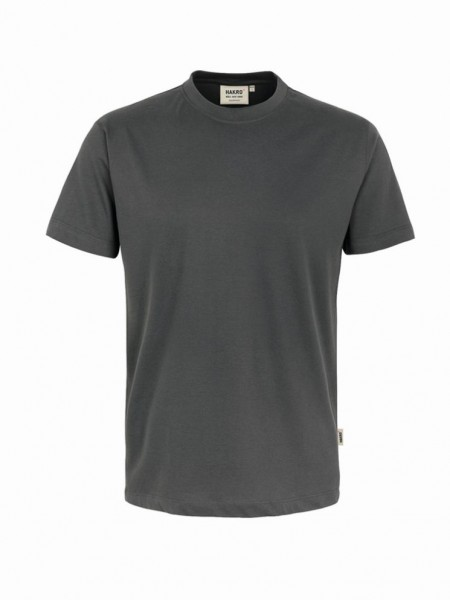 HAKRO® T-Shirt Classic graphit - Front
