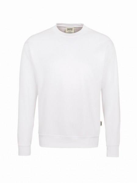 HAKRO® Sweatshirt Premium weiß - Front
