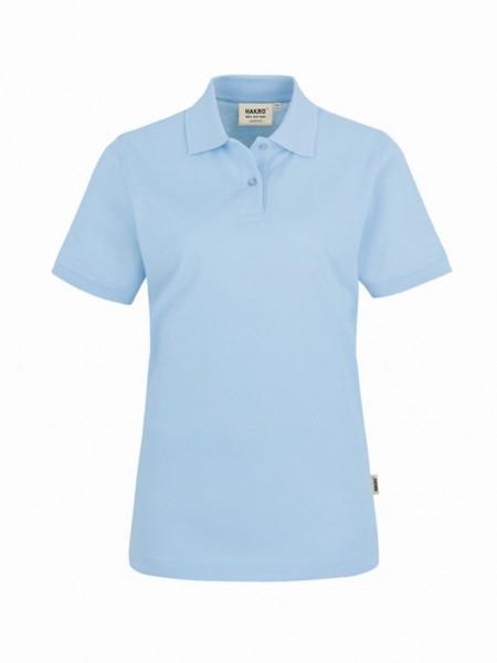 HAKRO® Damen-Poloshirt Top iceblue - Front