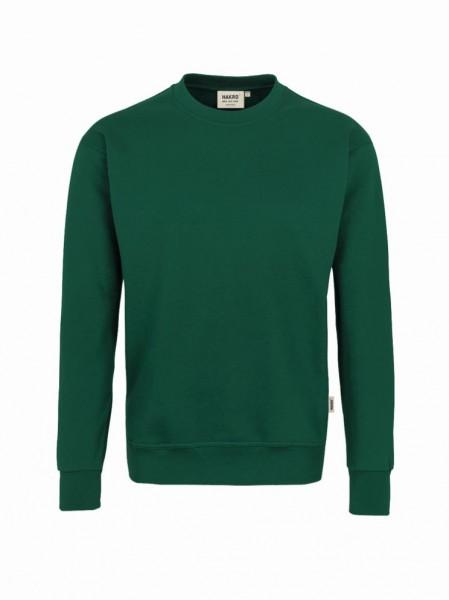 HAKRO® Sweatshirt Premium tannengrün - Front