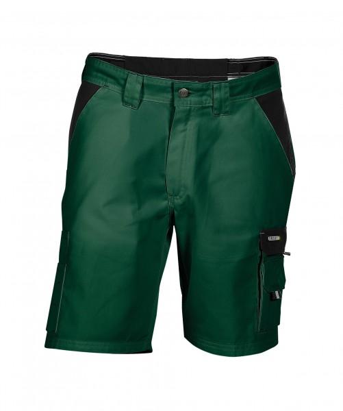DASSY Roma zweifarbige Shorts grün/schwarz - Front