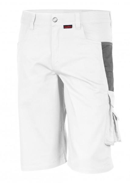 Qualitex - Pro Shorts in weiß-grau
