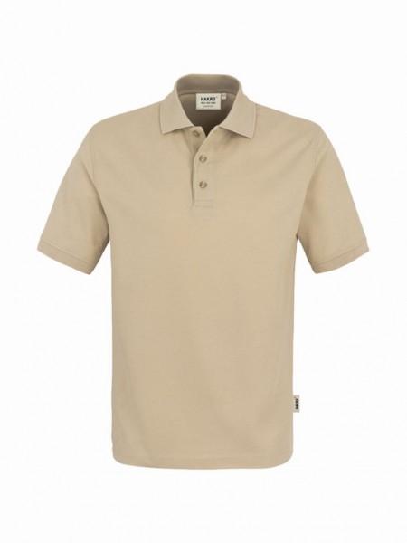 HAKRO® Poloshirt Top sand - Front