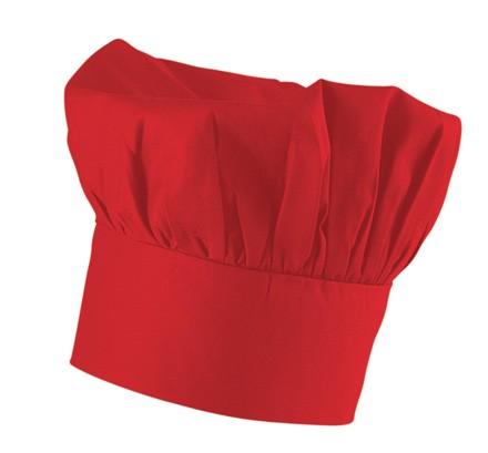 Exner Bistromütze Mischgewebe rot